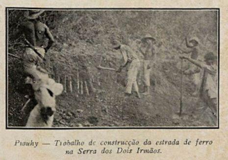 A antiga estrada de ferro Petrolina-Paulistana