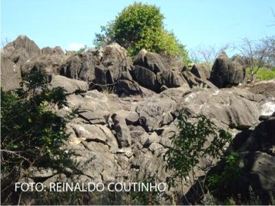 Jazidas de mármore e calcário em Fronteiras e Pio IX