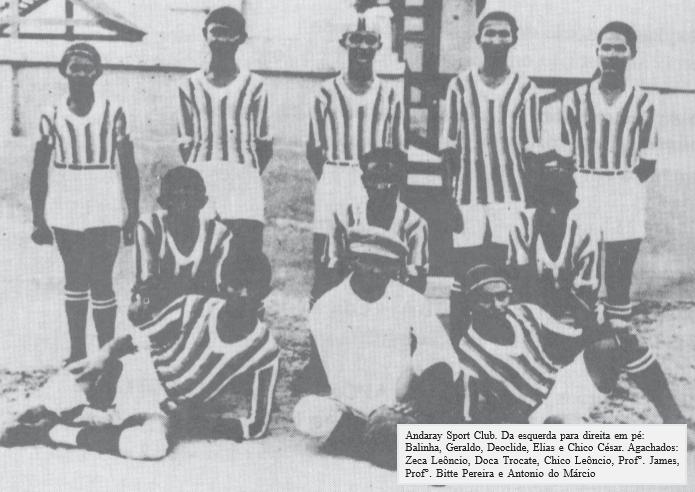 Andaray Sport Club, primeiro clube de futebol amador de Piracuruca