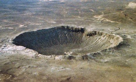 Meteoro gigantesco caiu no Piauí há milhões de anos