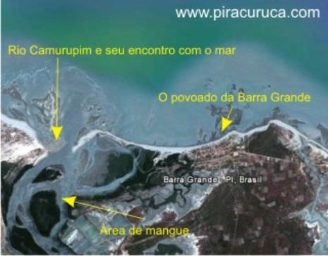 A beleza exótica da Barra Grande
