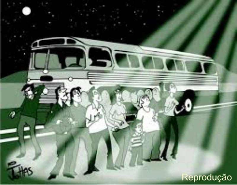 """A luz misteriosa que """"tomou conta"""" de um ônibus de excursão nas imediações de Piracuruca-PI"""