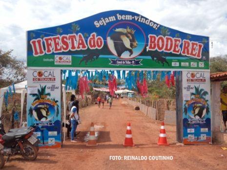 População de Cocal de Telha vibra com o segundo Festival do Bode Rei