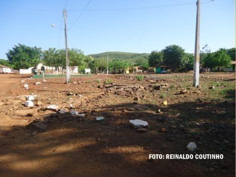 Fartura de água subterrânea no povoado Olho d'Água Grande, em Piripiri-PI