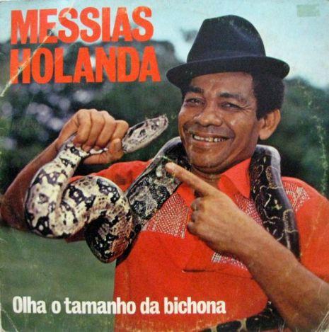 Forrozeiro Messias Holanda teve sua cobra esmagada em Teresina