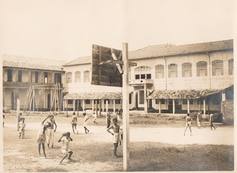 Colégio Diocesano de Teresina: Um flagrante de 1954