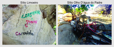 Descaso com o patrimônio arqueológico ameaça dois importantes sítios com pinturas rupestres em Piracuruca. A indiferença com o passado se reflete no vandalismo que observamos hoje na cidade