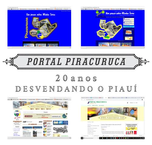 Portal Piracuruca, 20 anos desvendando o Piauí