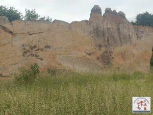 O painel rochoso da Pedra do Letreiro