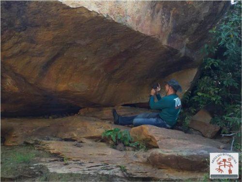 Sítio Arqueológico da Malhadinha em São José do Divino precisa de uma atenção urgente, as pinturas estão praticamente apagadas
