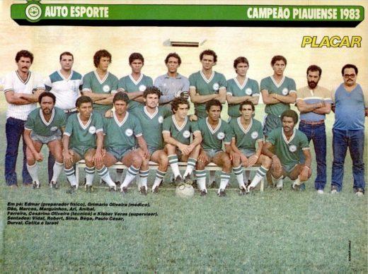 Auto Esporte Clube do Piauí, o estimado calhambeque alviverde