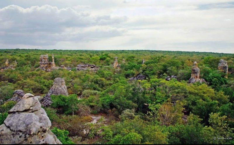 A Arena do Rei na Pedra do Castelo em Castelo do Piauí