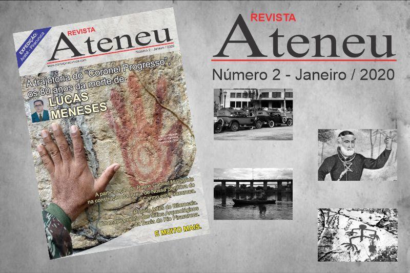 Está disponível a segunda edição do periódico Revista Ateneu