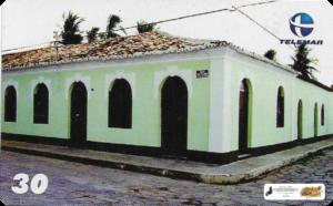 Casarão do Século XIX - Piracuruca-PI - Arquitetura tradicional com predomínio colonial. Residência do Intendente Municipal, Tenente-Coronel  João Facundo de Rezende e D. Emília Costa de Rezende, sua esposa.