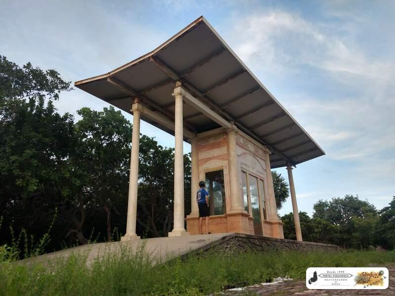 A charmosa estação de trem de Floriópolis em Parnaíba – Piauí