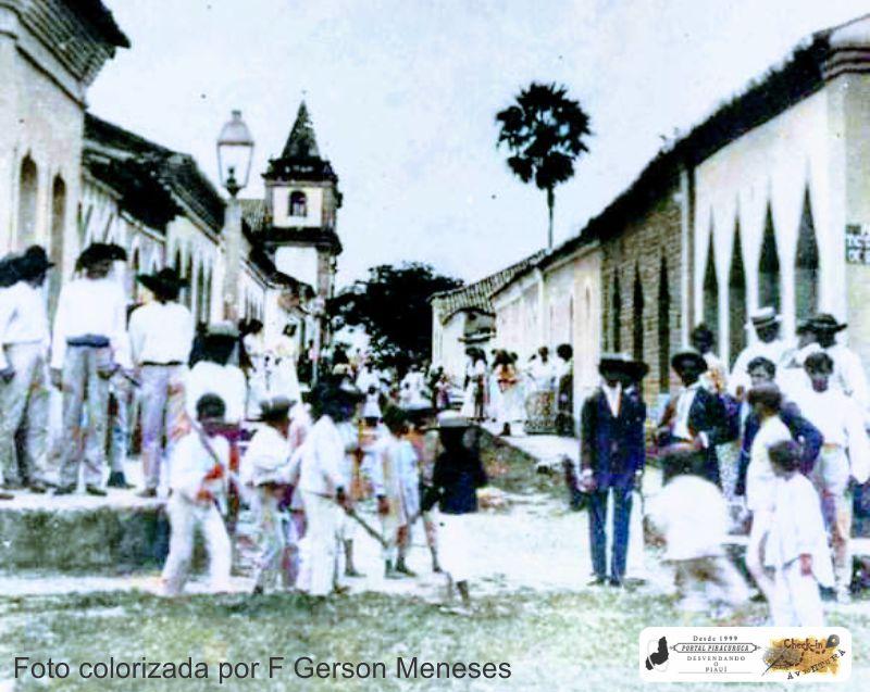 Rua da Goela: O apogeu e a decadência da rua mais antiga de Piracuruca