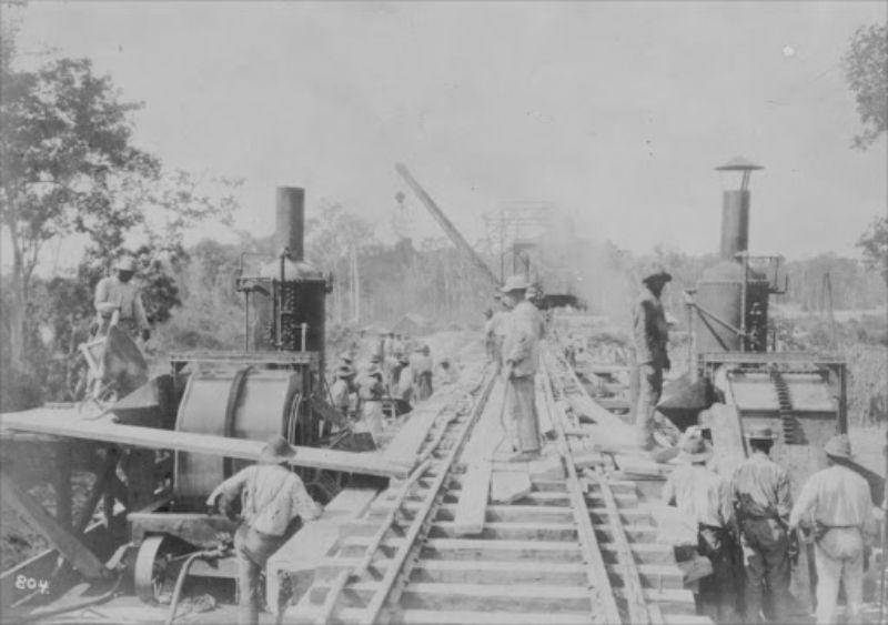 A linha de sangue: A epopéia da construção da Estrada de Ferro Central do Piauí