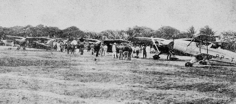 Um trem pra ver o primeiro voo do avião Moreninha, no Aero Clube de Parnaíba