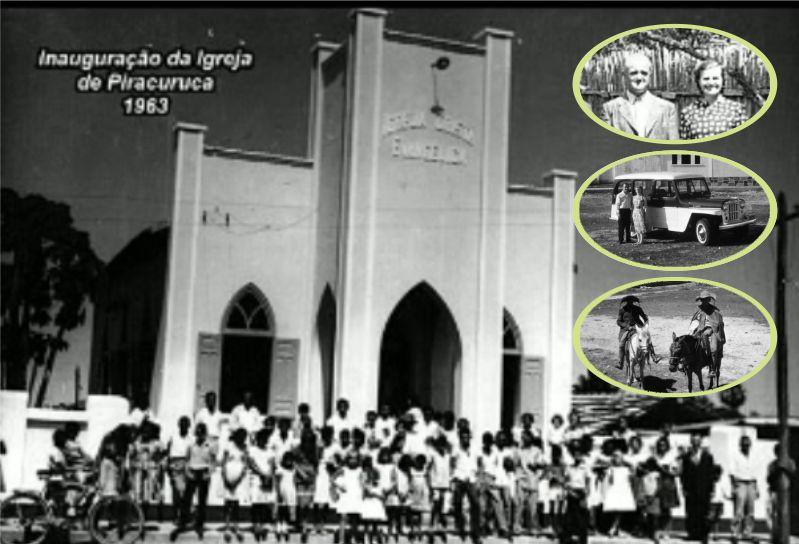 Igreja Cristã Evangélica é desde 1954 um patrimônio de Piracuruca, fruto da obra missionária dos irlandeses Wesley e Winnie Gould