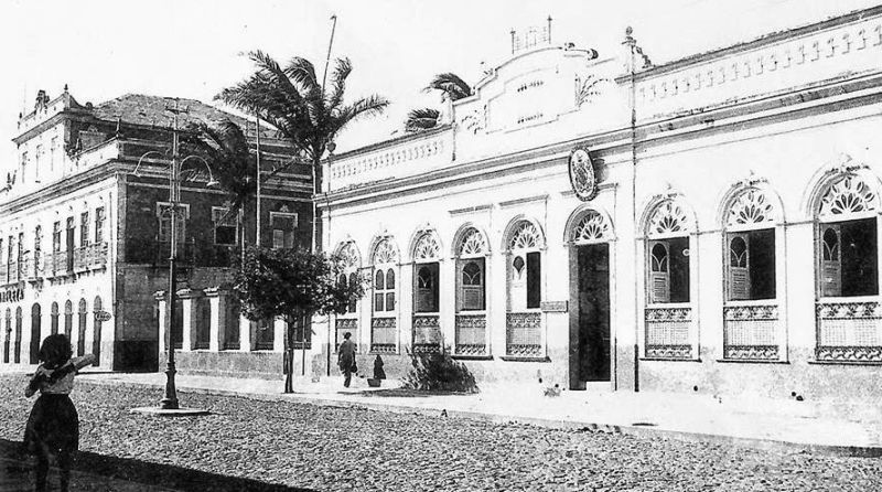 O desalendo dos estivadores Saracura, Ribinha e Beija Flor, após o fechamento do escritório da Booth Line na Parnaíba de 1947