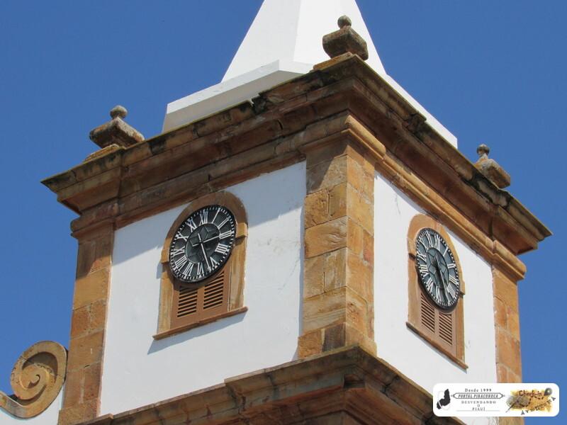 Nunca mais se ouviu o badalar do sino do relógio da matriz católica da Piracuruca