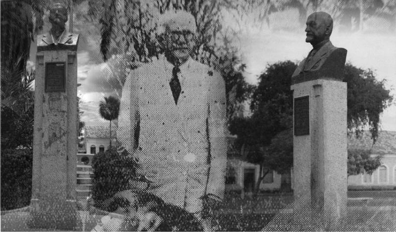 Anísio Brito esteve no lançamento da pedra fundamental do busto em homenagem a Gervásio de Brito Passos em Piracuruca no ano de 1937