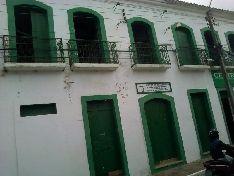Instituto Histórico de Parnaíba está em obras para atender estudantes, pesquisadores e turistas