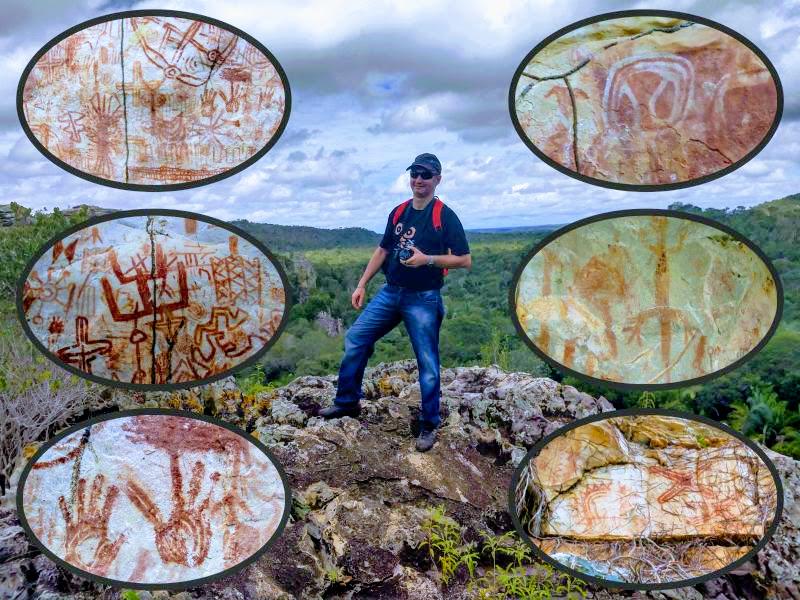 Serra do Morcego em Caxingó-PI: A fabulosa Serra encantada com suas lendas e um grandioso acervo de arte rupestre