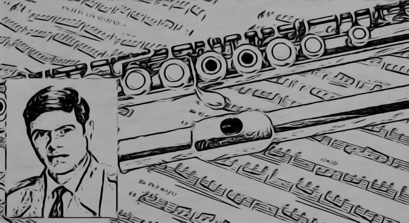 O aclamado músico piracuruquense Valdivino de Castro Pereira, que chegou a ser considerado o melhor flautista de música erudita do Brasil