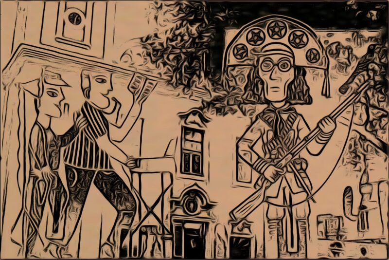 O Chico Tinga, na Parnaíba de 1939, ouvia atento o cantador de romances falar sobre os feitos de Lampião