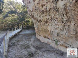 Painel rupestre da Pedra do Americano
