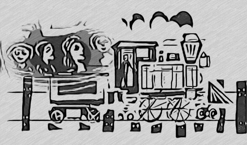 Os meninos que roubavam coco babaçu nos vagões de trem na velha Parnaíba